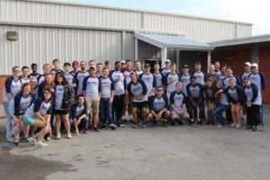 OKWU ministry students at service day
