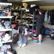 Students Sorting Clothes