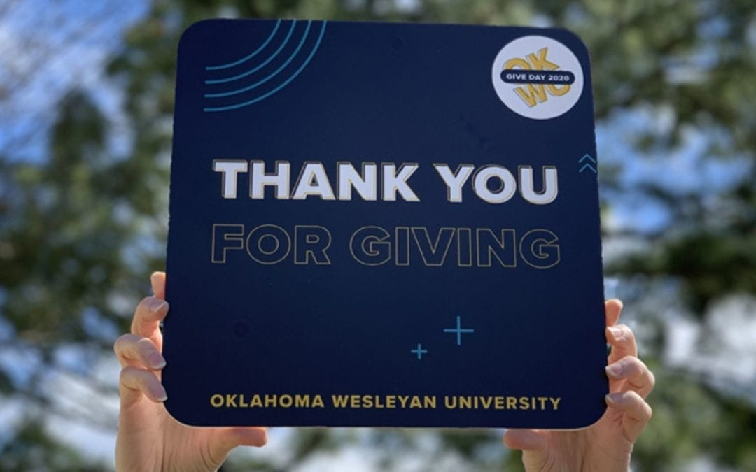 #OKWUGiveDay Exceeds Expectations