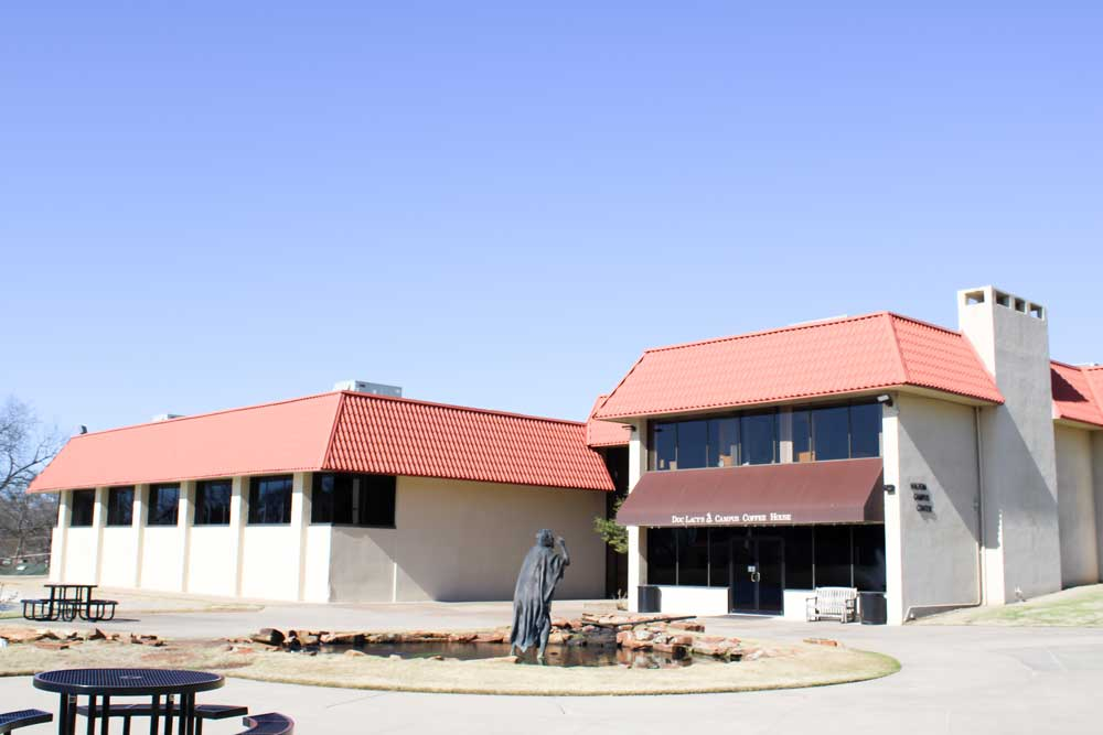 Haltom Campus Center exterior