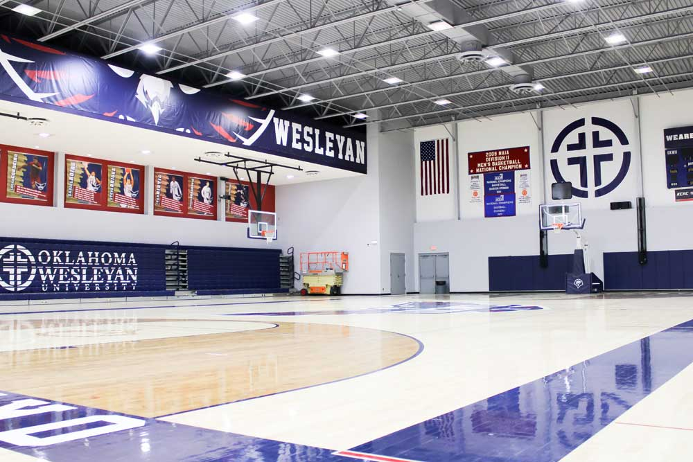 Mueller sports center main gym