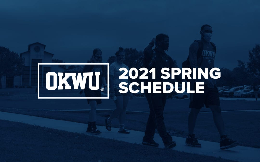 2021 Spring Semester Schedule Announced