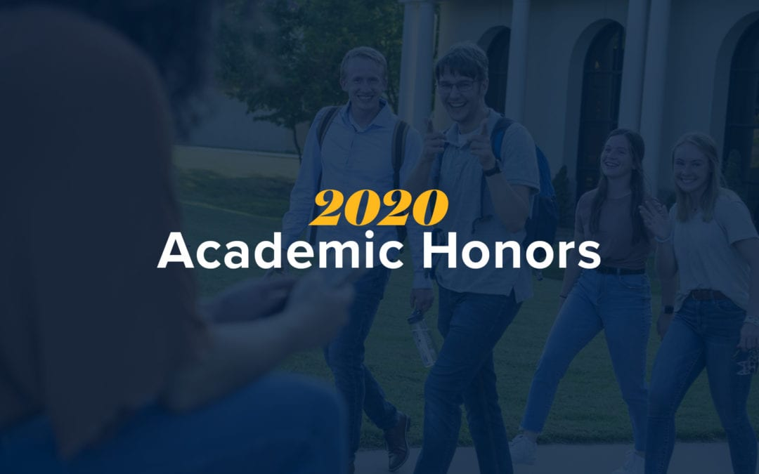 OKWU Announces Fall 2020 Academic Honors