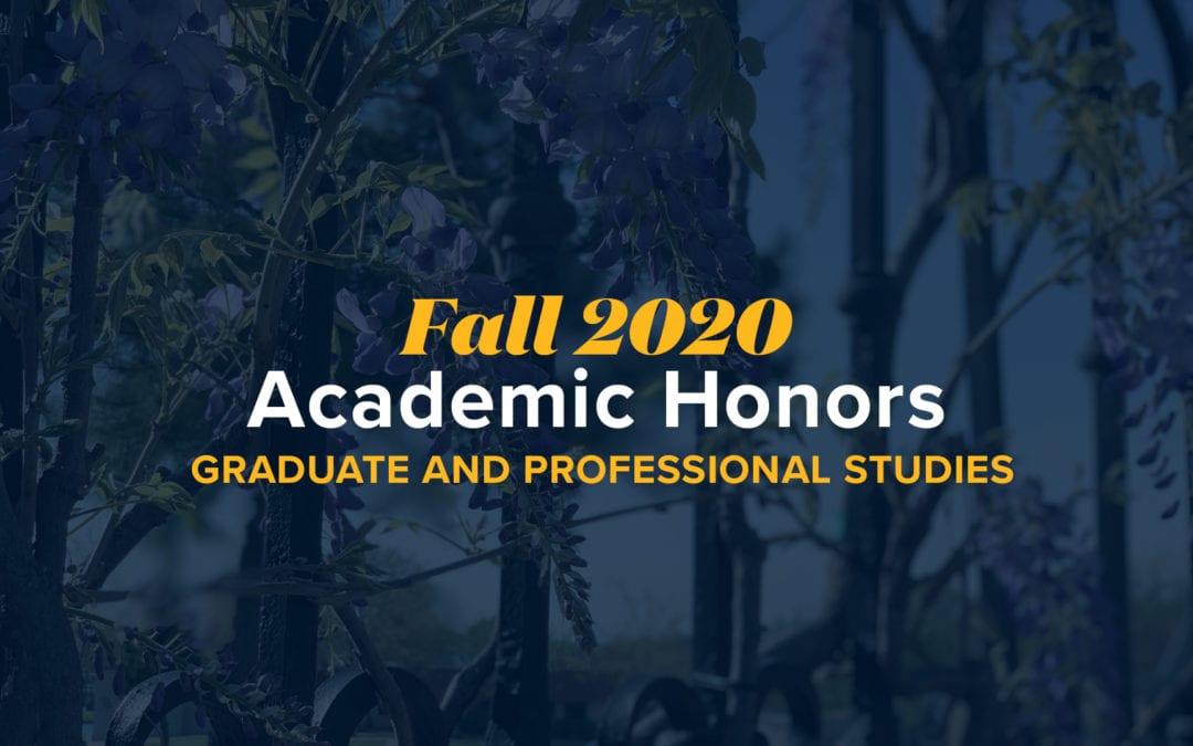 OKWU Announces Fall 2020 GPS Honors