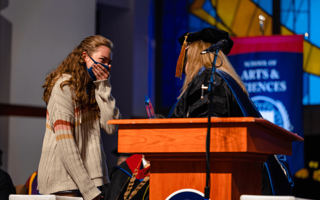 OKWU Honors Chapel Recognizes Excellence in Student Body